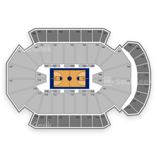Jacksonville Veterans Memorial Arena Seating Chart NBA