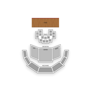 The Allen Room at Lincoln Center Seating Chart Concert