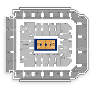 Minnesota Golden Gophers Basketball Seating Chart