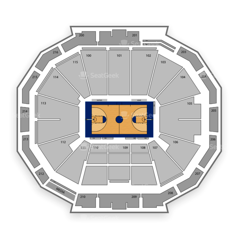 McCamish Pavilion Seating Chart Concert