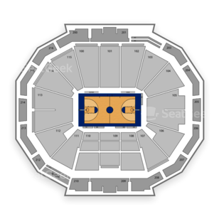 Georgia Tech Yellow Jackets Basketball Seating Chart