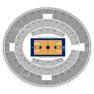 Lloyd Noble Center Seating Chart Concert