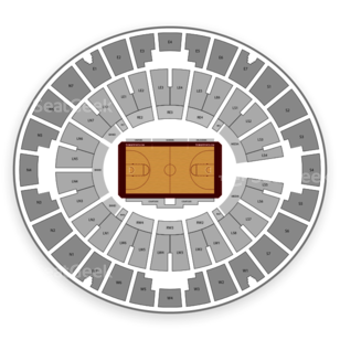Lloyd Noble Center Seating Chart NCAA Football
