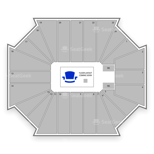 CU Events Center Seating Chart Concert