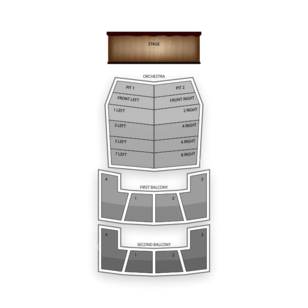 Hamilton Place Theatre Seating Chart Theater