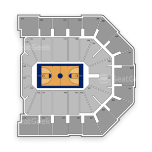 Xavier Musketeers Basketball Seating Chart