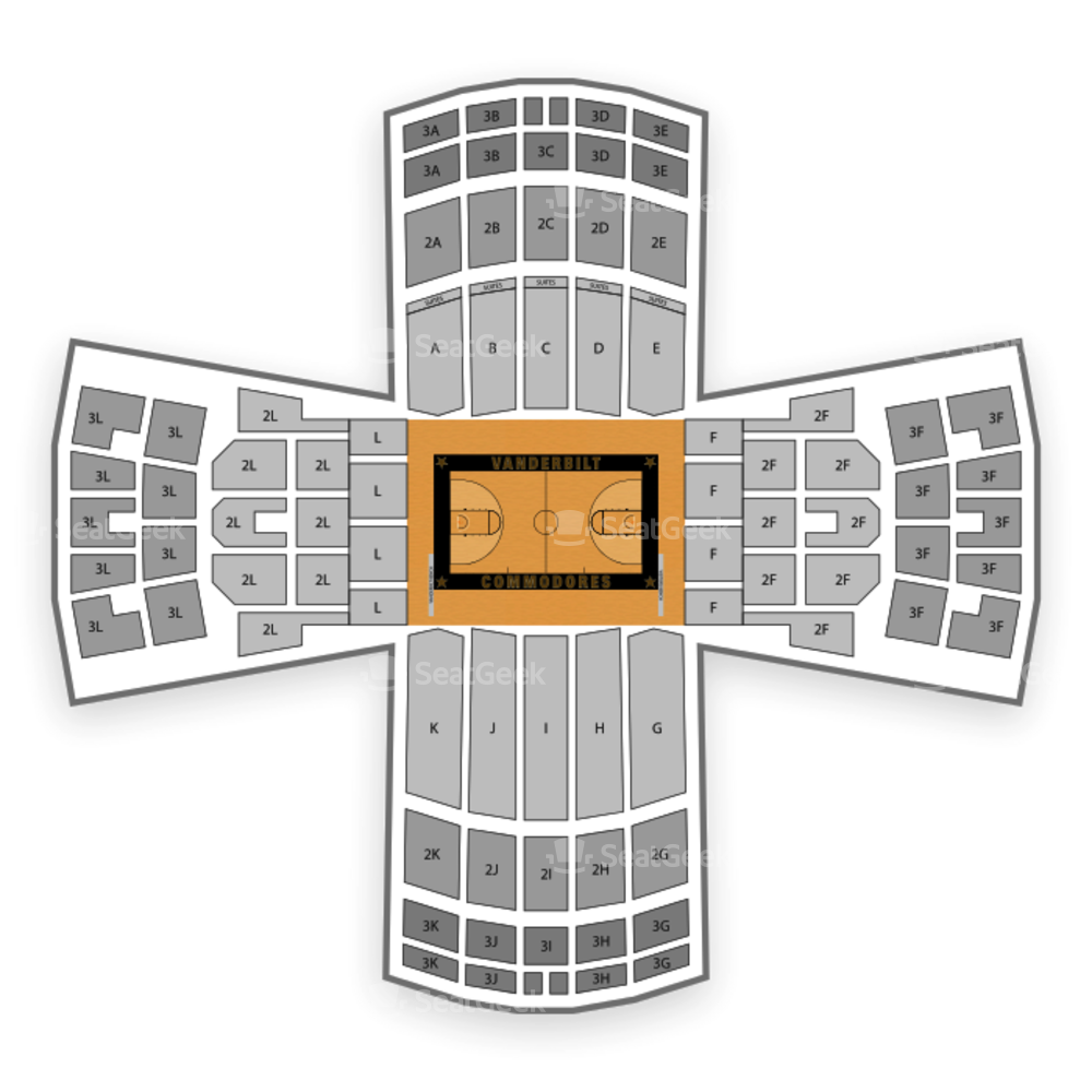 Memorial Gym Seating Chart NCAA Football