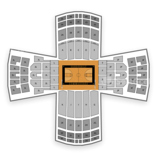 Vanderbilt Commodores Basketball Seating Chart