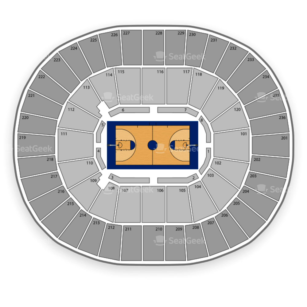 Mississippi State Bulldogs Basketball Seating Chart