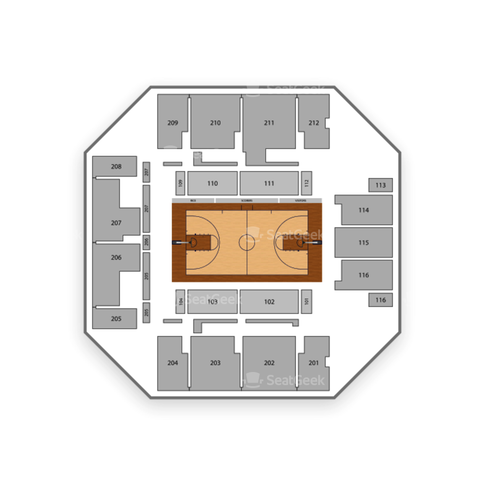 Rice Owls Womens Basketball Seating Chart