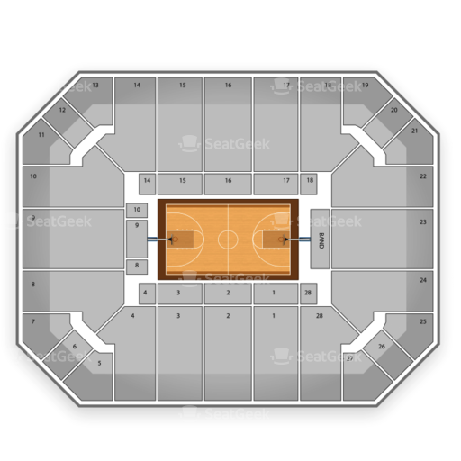 Haas Pavilion Seating Chart