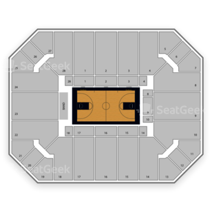 Haas Pavilion Seating Chart NCAA Football
