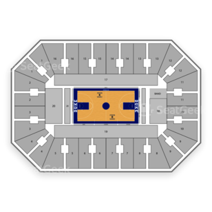 Cameron Indoor Stadium Seating Chart Amp Interactive Seat
