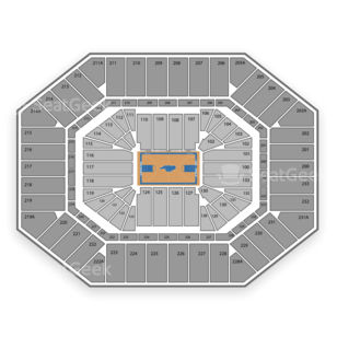North Carolina Tar Heels Basketball Seating Chart