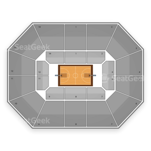 Washington Huskies Basketball Seating Chart
