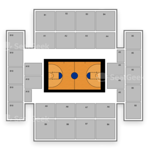 Duquesne Dukes Basketball Seating Chart