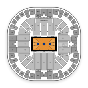 Clemson Lady Tigers Womens Basketball Seating Chart