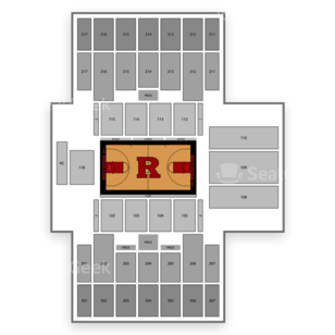 Rutgers Athletic Center Seating Chart Sports