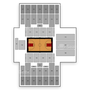 Rutgers Scarlet Knights Womens Basketball Seating Chart