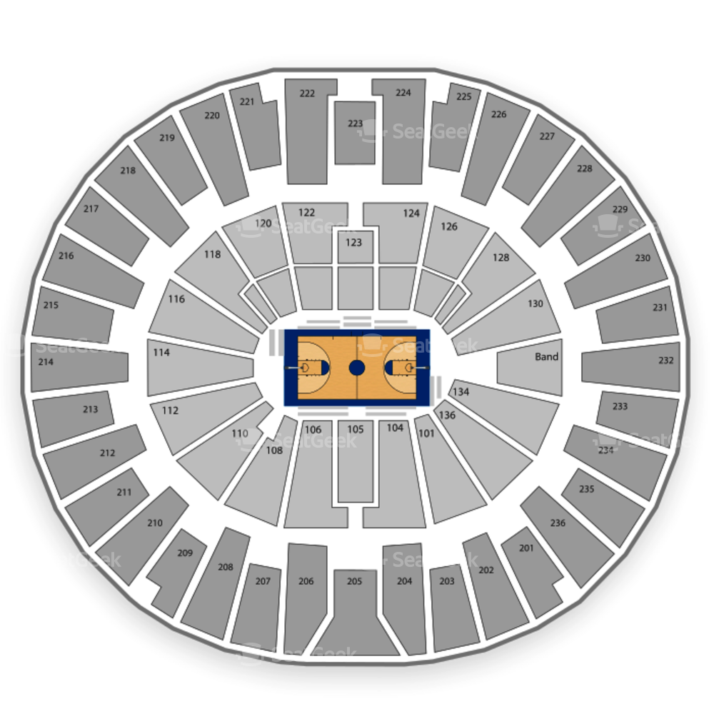 Michigan Wolverines Womens Basketball Seating Chart