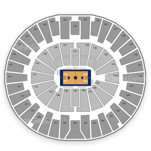 Michigan Wolverines Basketball Seating Chart