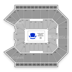 Galen Center Seating Chart Concert