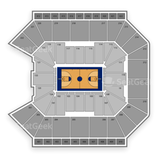 Galen Center Seating Chart NCAA Womens Basketball