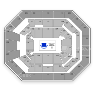 Matthew Knight Arena Seating Chart Concert