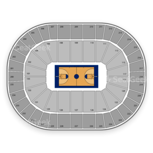Michigan State Spartans Basketball Seating Chart