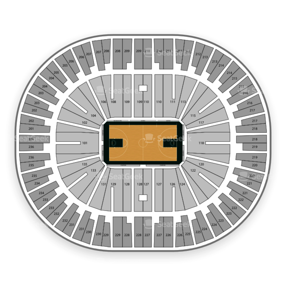 Jack Breslin Student Events Center Seating Chart NBA