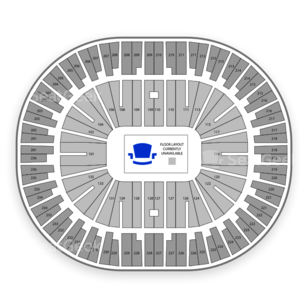 Jack Breslin Student Events Center Seating Chart Concert