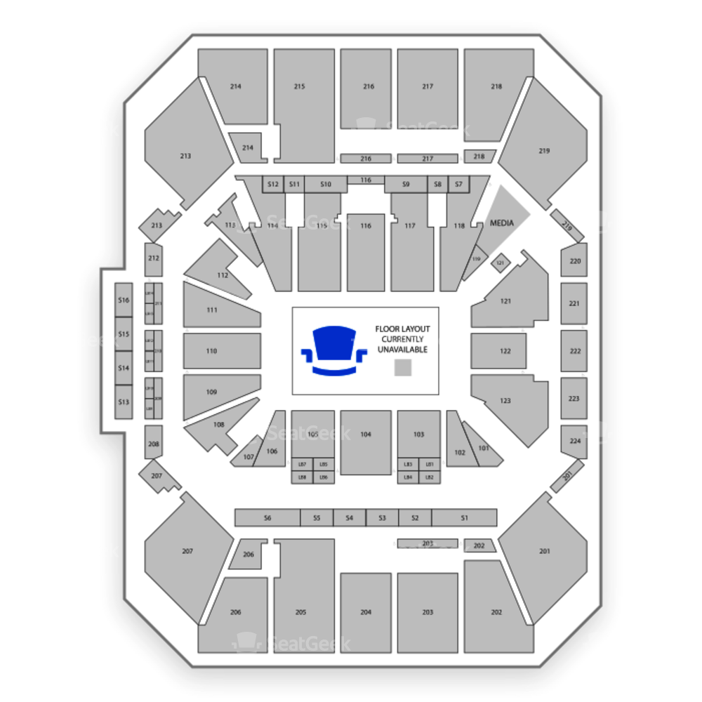 Fifth Third Arena Seating Chart NFL