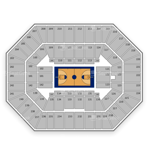 Iowa State Cyclones Basketball Seating Chart