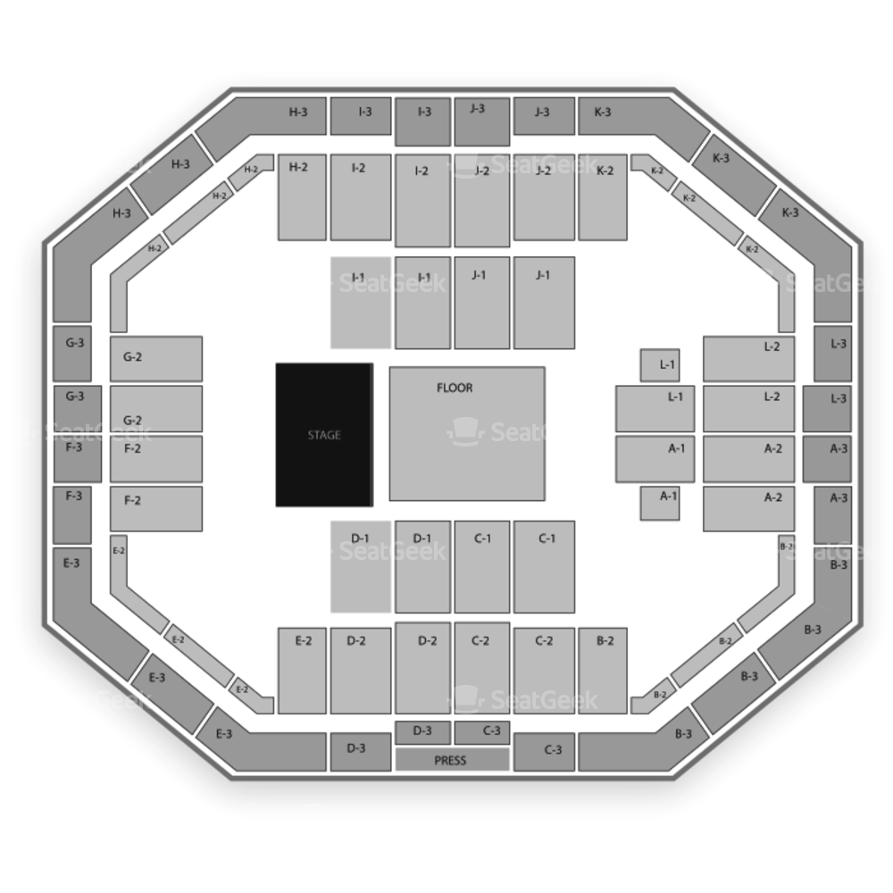 Stephen C. O'Connell Center Seating Chart Concert