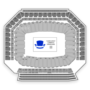 Ford Field Seating Chart Concert