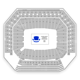 Ford Field Seating Chart Auto Racing