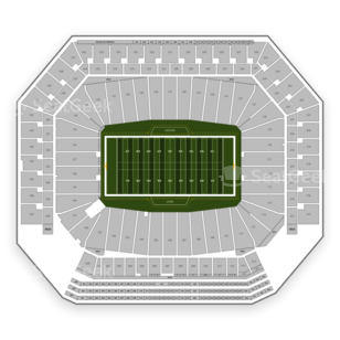 Ford Field Seating Chart NCAA Football