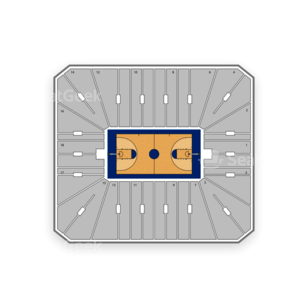 Virginia Tech Hokies Basketball Seating Chart
