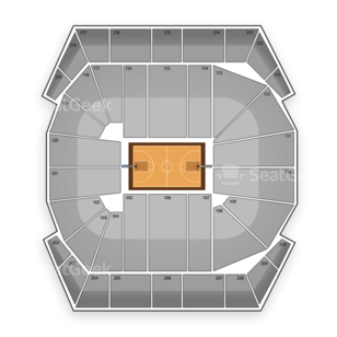 Missouri Tigers Womens Basketball Seating Chart