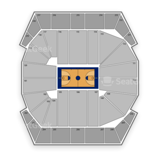 Missouri Tigers Basketball Seating Chart