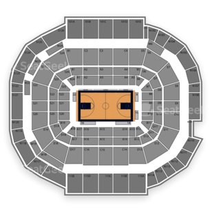 McKale Center Seating Chart Concert