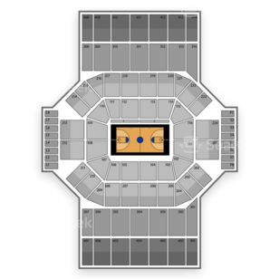 University of Dayton Arena Seating Chart NCAA Basketball