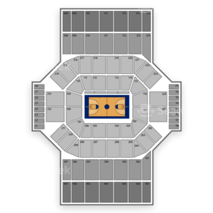 University of Dayton Arena Seating Chart Concert ...