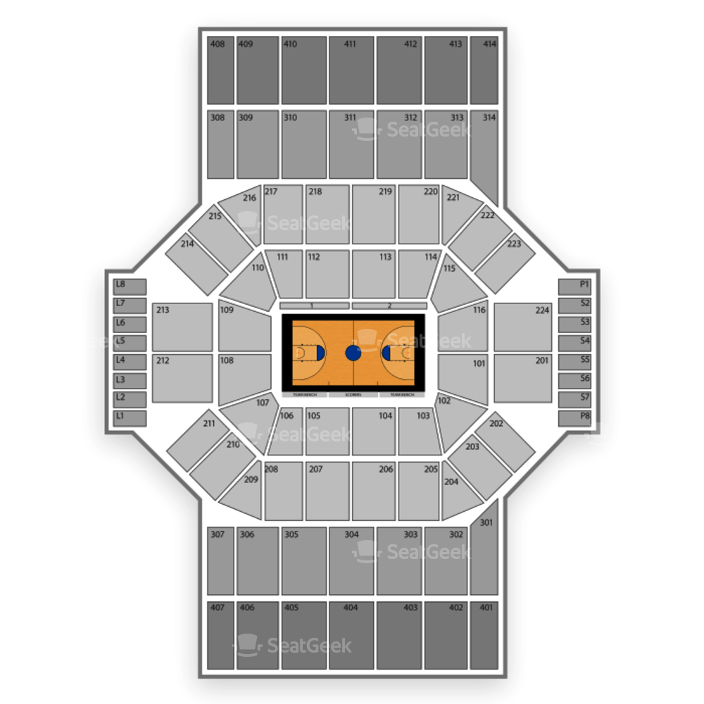 Dayton Flyers Basketball Seating Chart