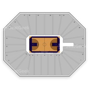 Bramlage Coliseum Seating Chart NCAA Football
