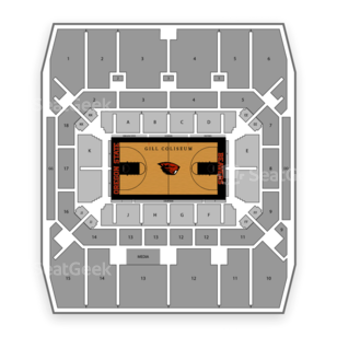 Gill Coliseum Seating Chart Concert