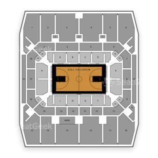 Gill Coliseum Seating Chart NCAA Womens Basketball