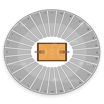 Carver Hawkeye Arena seating chart Iowa Hawkeyes Basketball