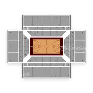 Stanford Cardinal Basketball Seating Chart