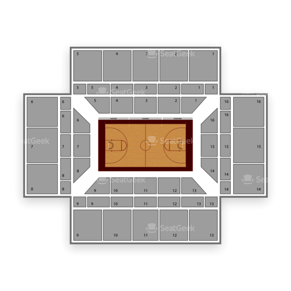 Stanford Cardinal Womens Basketball Seating Chart